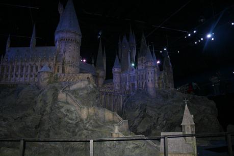 Hogwartsborgen i skala 1:24