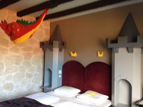 Hotell Legoland har drager på rommene