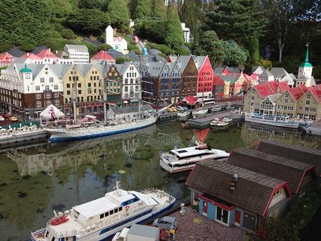 Bryggen i Bergen i LEGOLAND