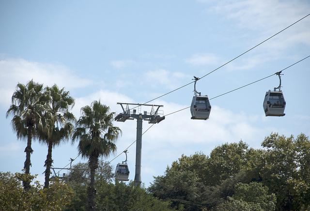 taubanen i Barcelona